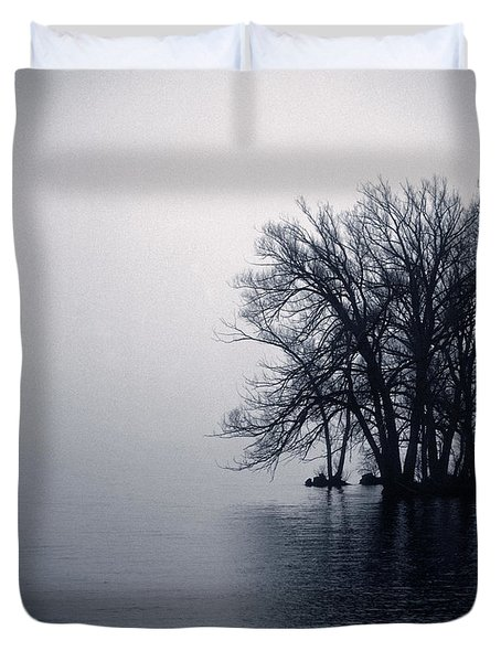 Fog Day Afternoon Duvet Cover