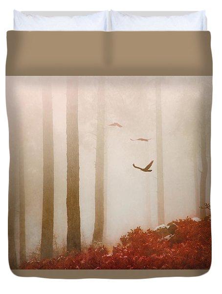 Fog Duvet Cover