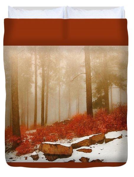 Fog II Duvet Cover