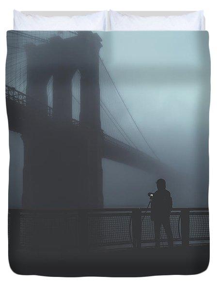 Fog Life  Duvet Cover