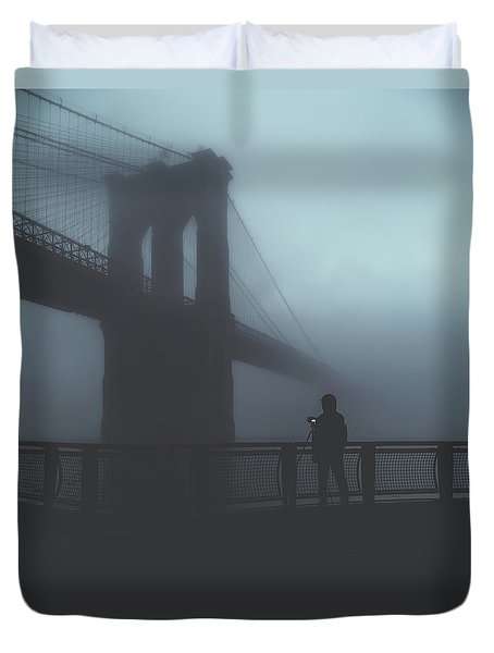 Fog Life  Duvet Cover by Anthony Fields