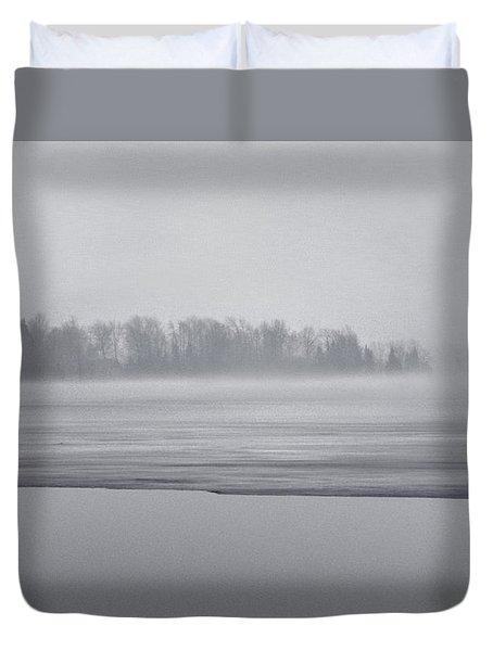 Fog Light Duvet Cover