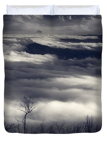 Fog Wave Duvet Cover