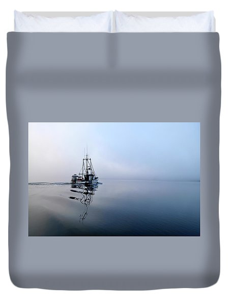 Foggy Duvet Cover