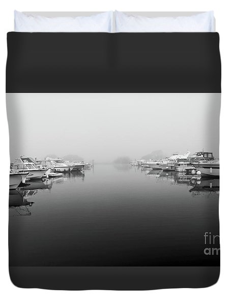 Foggy Day Banagher Duvet Cover