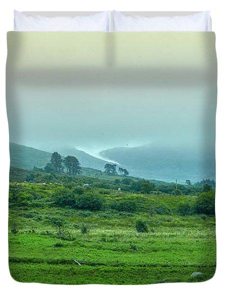 Foggy Day #g0 Duvet Cover