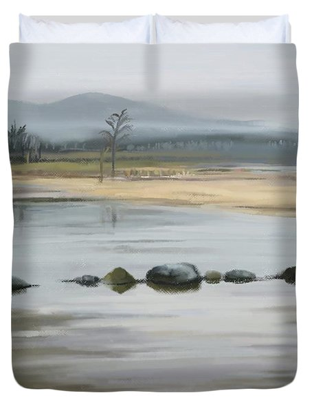Foggy Day Duvet Cover