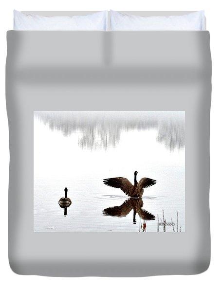 Foggy Lake Winona Duvet Cover