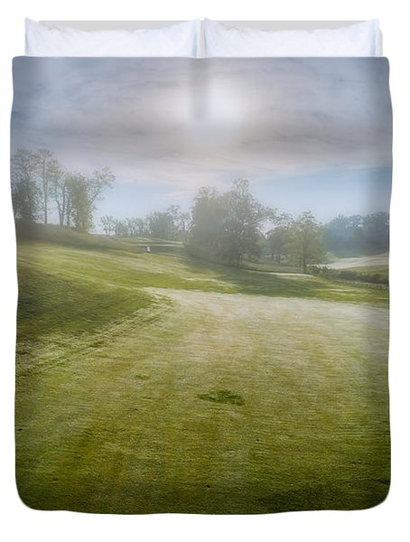 Foggy Look Back Duvet Cover