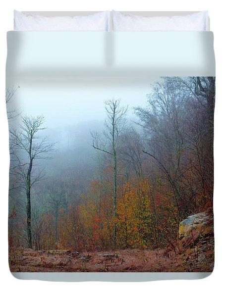 Foggy Nature Duvet Cover