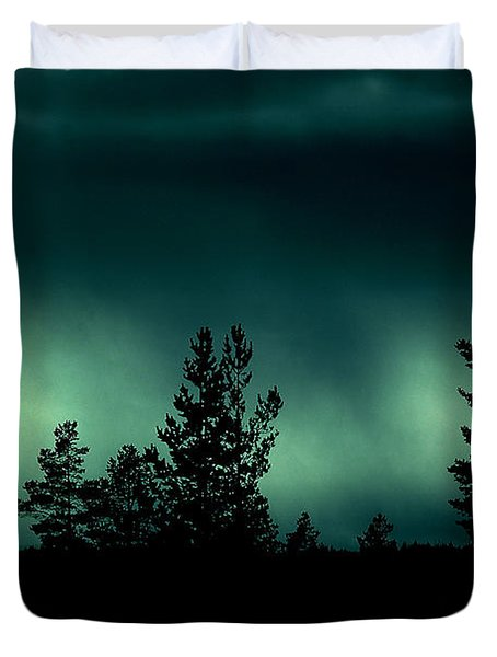 Foggy Night Duvet Cover