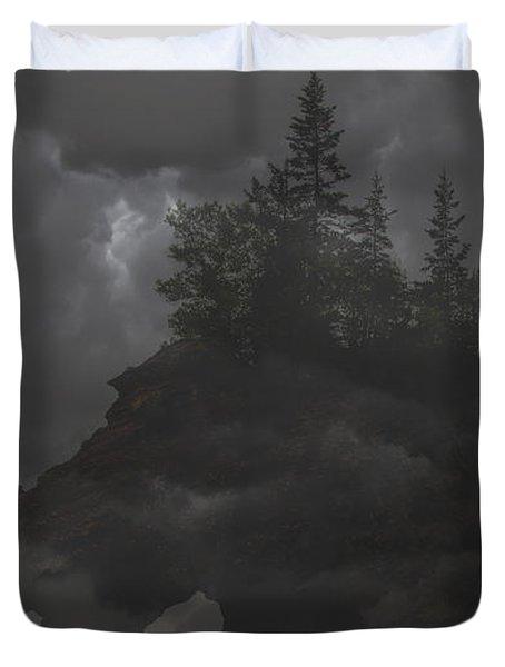 Foggy Night Duvet Cover