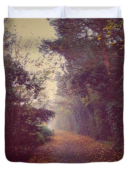 Foggy Duvet Cover