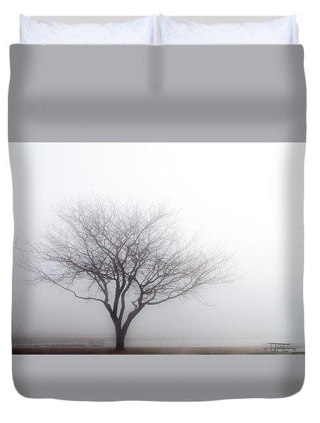 Foggy Picnic Duvet Cover