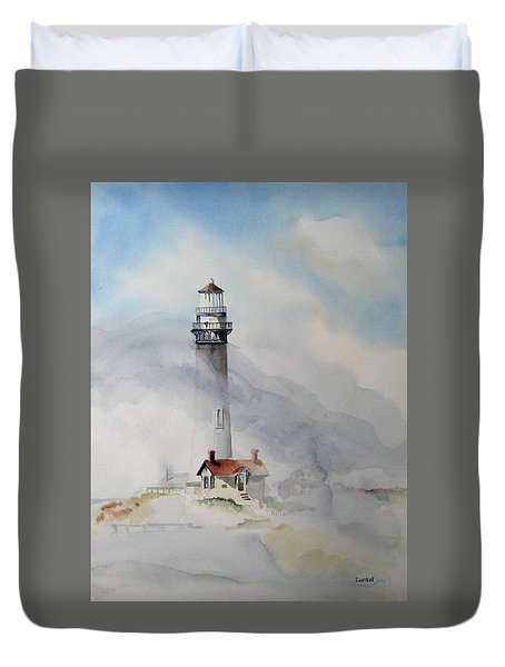 Foggy Point Duvet Cover