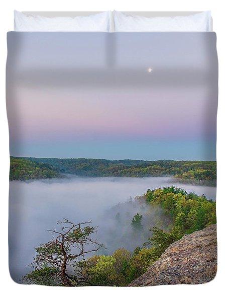 Foggy Valley Duvet Cover