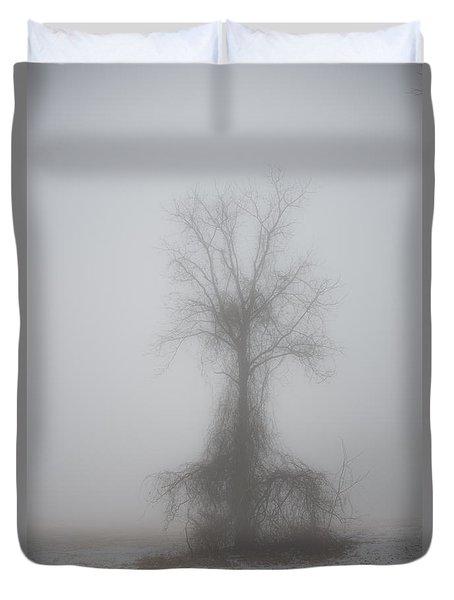 Foggy Walnut Duvet Cover