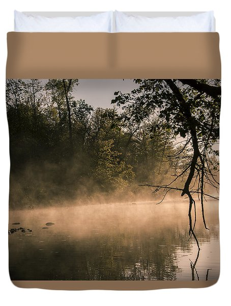Foggy Water Duvet Cover
