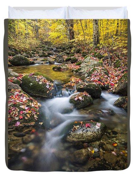 Foliage Brook Duvet Cover