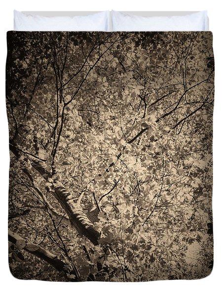 Foliage Duvet Cover by Wim Lanclus