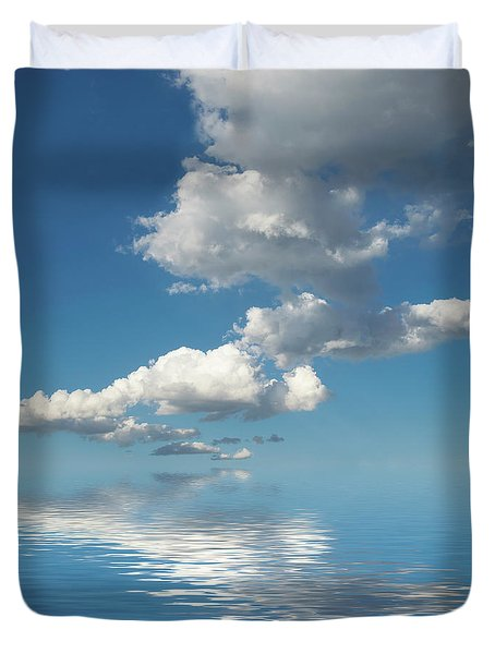 Follow Me Duvet Cover by Jerry McElroy