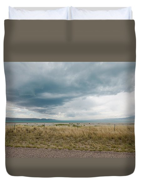 Follow The Clouds Duvet Cover
