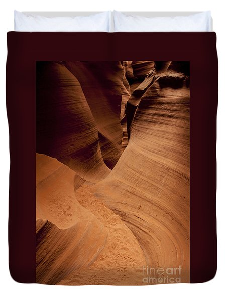 Duvet Cover featuring the photograph Follow The Footprints In The Sand  by Ruth Jolly