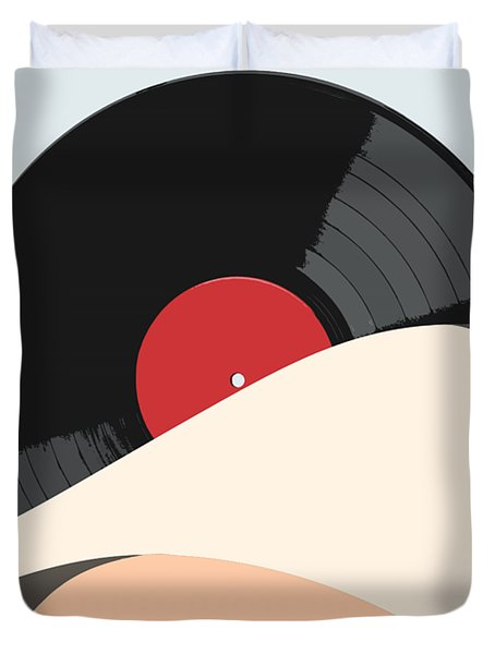 Follow The Music Duvet Cover