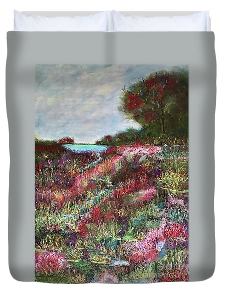 Follow The Whispers Duvet Cover