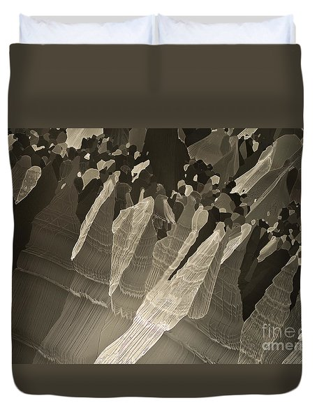 Duvet Cover featuring the photograph Follow Us by Olimpia - Hinamatsuri Barbu