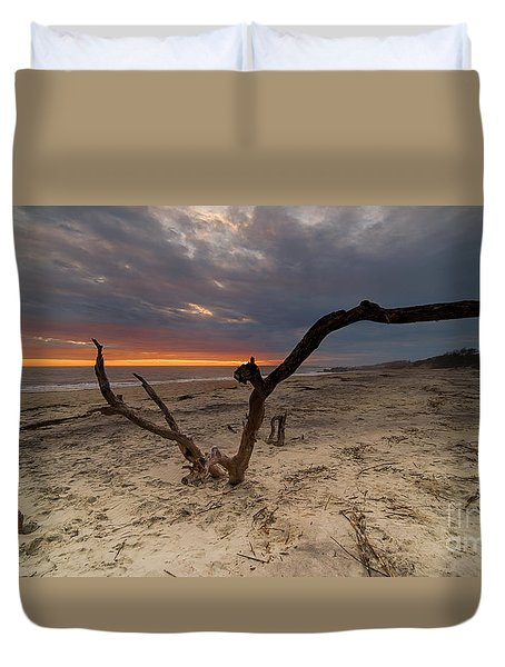 Sun Dragon  Duvet Cover