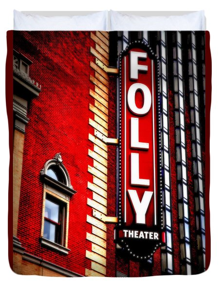 Folly Theater Duvet Cover