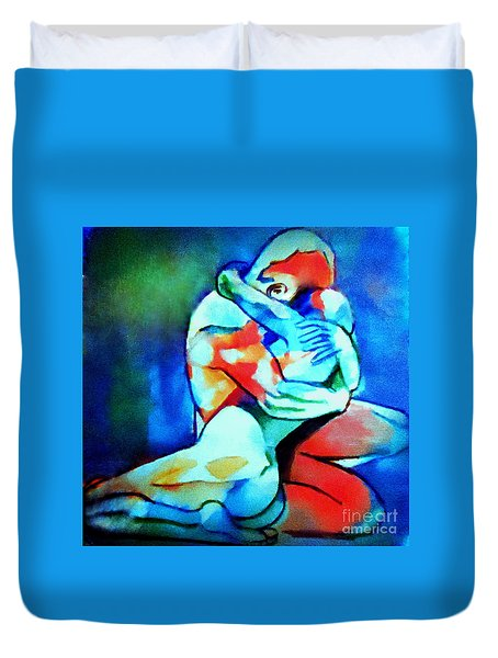 Fond Embrace Duvet Cover