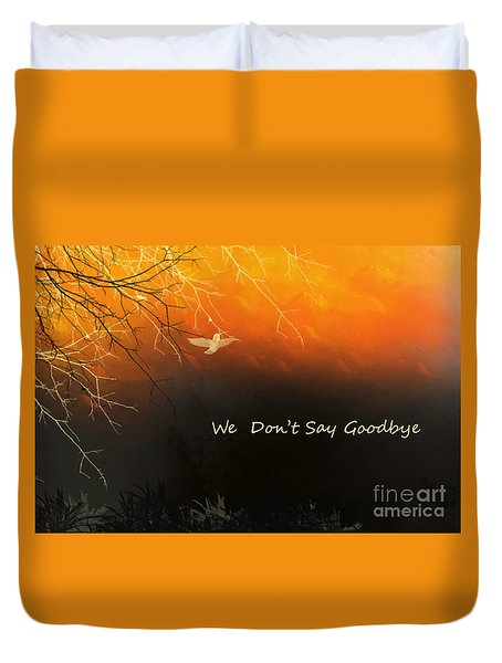 Fond Thoughts Duvet Cover