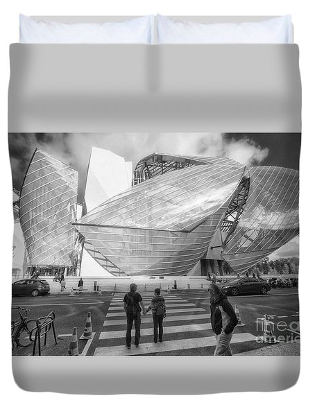 Fondation Louis Vuitton Paris I Duvet Cover
