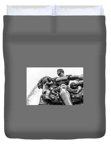Fontana Di Piazza Solferino-1 Duvet Cover