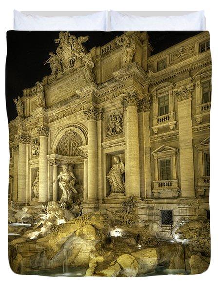 Fontana Di Trevi 1.0 Duvet Cover