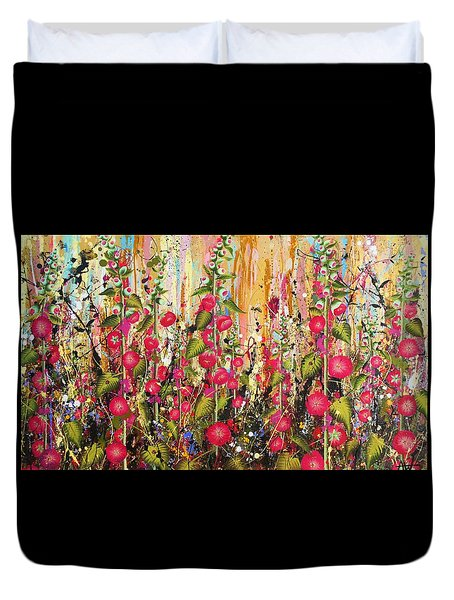 Food For Bees And Butterflies Duvet Cover