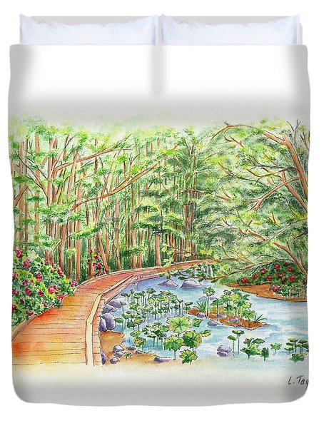 Footbridge Duvet Cover