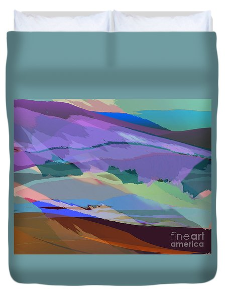 Foothills Duvet Cover