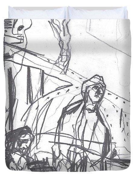 For B Story 4 8 Duvet Cover