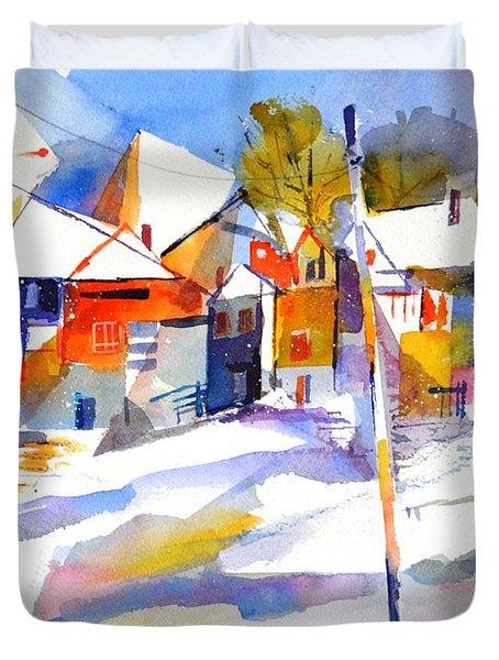 For Love Of Winter #2 Duvet Cover