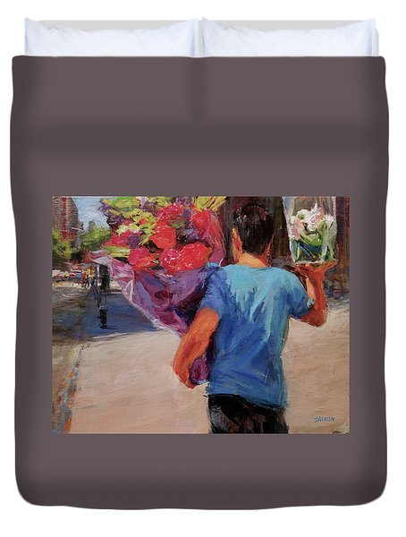 For Someone Special Duvet Cover by Peter Salwen