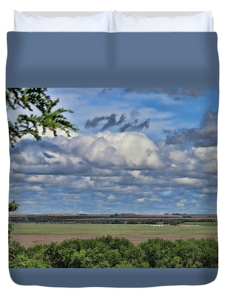 For Spacious Skies Duvet Cover
