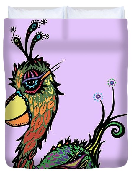 For The Birds Duvet Cover