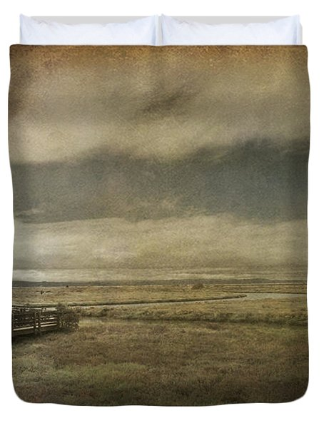 For The Lonely Souls Duvet Cover by Laurie Search