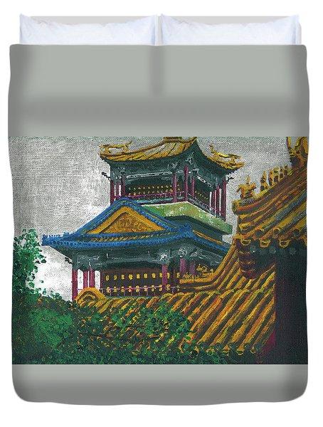 Forbidden City Duvet Cover