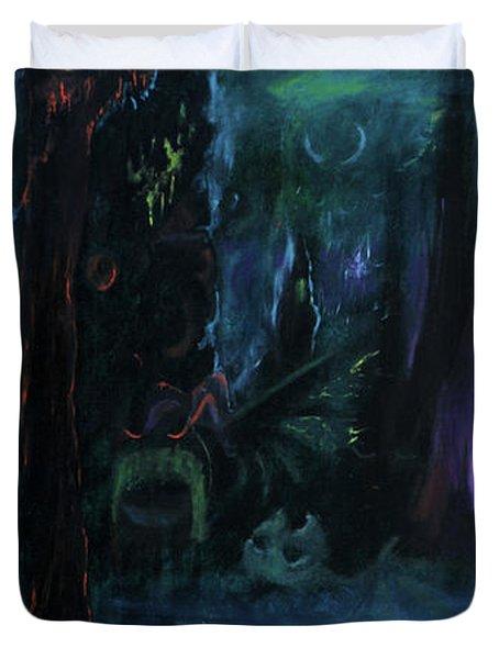 Forbidden Forest Duvet Cover