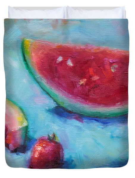 Forbidden Fruit Duvet Cover