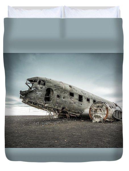 Forced Landing 2 Duvet Cover